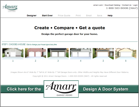 Amarr's Design-A-Door System
