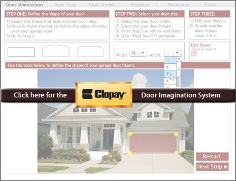 Clopay's Design-A-Door System